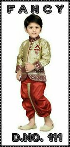 Indian kids party dresses achakan sherwani kurtas nehru