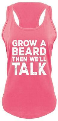 Ladies Grow A Beard Then We'll Talk