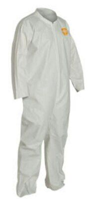 3x Dupont Proshield 1 Coveralls Size Large One Protective Suit No Hood Lot Of 3