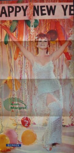 ANN-MARGRET Japanese Personality poster 1966 Calendar New Year 10x20