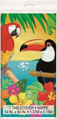 Tropical Island Luau Party Plastic Tablecover 54