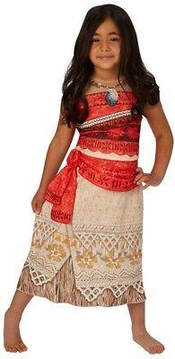 Mädchen klassisch Disney Moana Hawaii Film Kostüm Kleid Outfit 3-8 Jahre