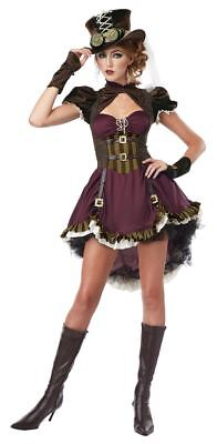 Steampunk Girl Halloween Costume Adult Womans Large - Steampunk Girls Costume