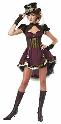 Steampunk Girl Halloween Costume Adult Womans Small - Steampunk Girls Costume