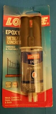 Loctite Metal And Concrete Epoxy Syringe 25-millileters 1919325