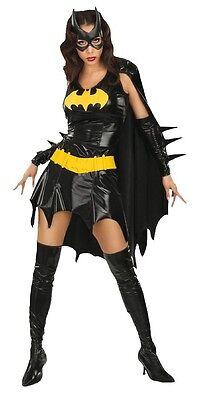 lett Kostüm mit Maske Mat. Polyester Kostüm Halloween Neu (Batgirl Masken)