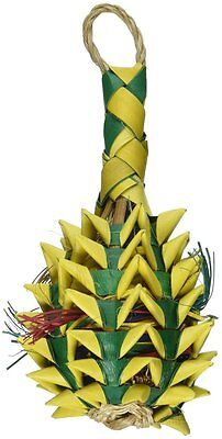 03364 Small Pineapple Bird Toy Cage Toys Cages Foraging Chew Shredder (Pineapple Bird)