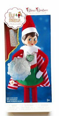 Elf on the Shelf Claus Couture Scout Elf Superhero Girl Costume For Your Elf - Elf On The Shelf Costume