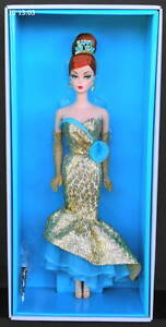 2013 HAPPY NEW YEAR BARBIE Holiday Hostess NRFB MIB With Shipper! Gold Label