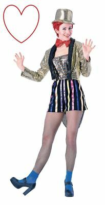 Adult Ladies Columbia Outfit Costume Rocky Horror Show Halloween Fancy Dress