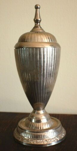 Old VIntage Antique Small Silveplate Urn