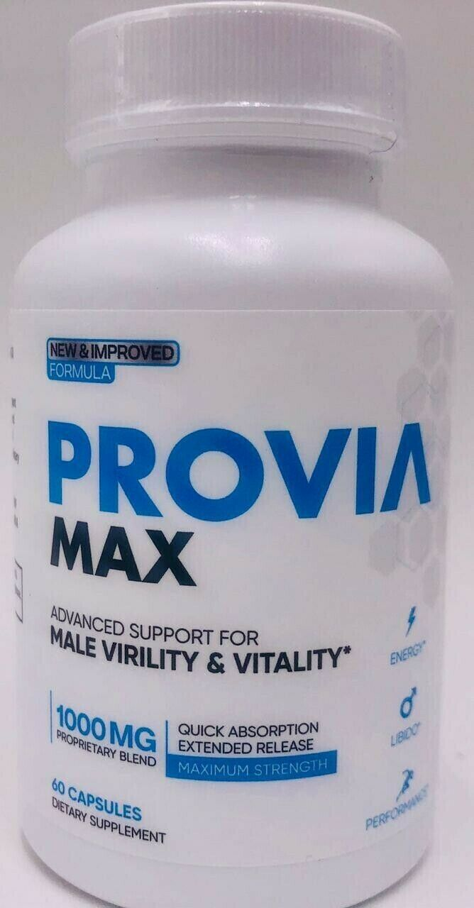 PROVIA MAX - Male Virility and Vitality Support Enhancement & PROVIA NO2 Boost 1