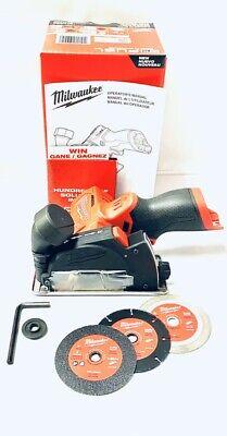 "Milwaukee 2522-20 M12 Fuel 3"" Cut Off Tool Grinder - Bare"