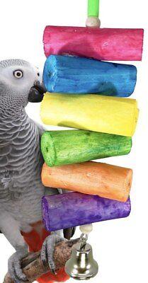 Bonka Bird Toys 2036 Rainbow Sola Bird Toy Parrot Parakeet Conure African grey