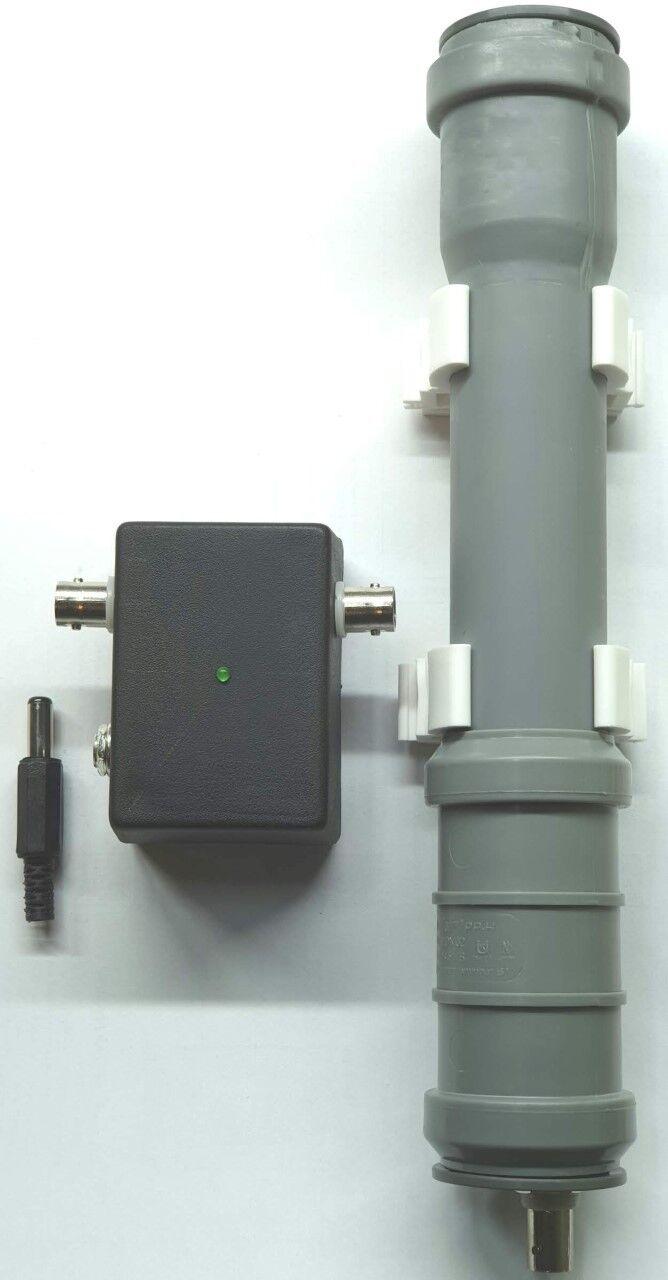 Cased MiniWhip Active Antenna HF LF VLF mini whip shortwave sdr RX