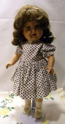 BEAUTIFUL VINTAGE R&B NANCY COMPOSITION DOLL 17""