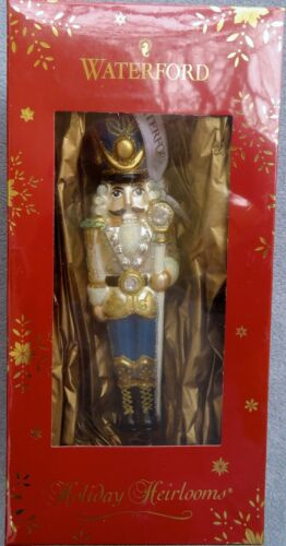 Waterford Holiday Heirlooms Toy Soldier Ornament Mint New in Box