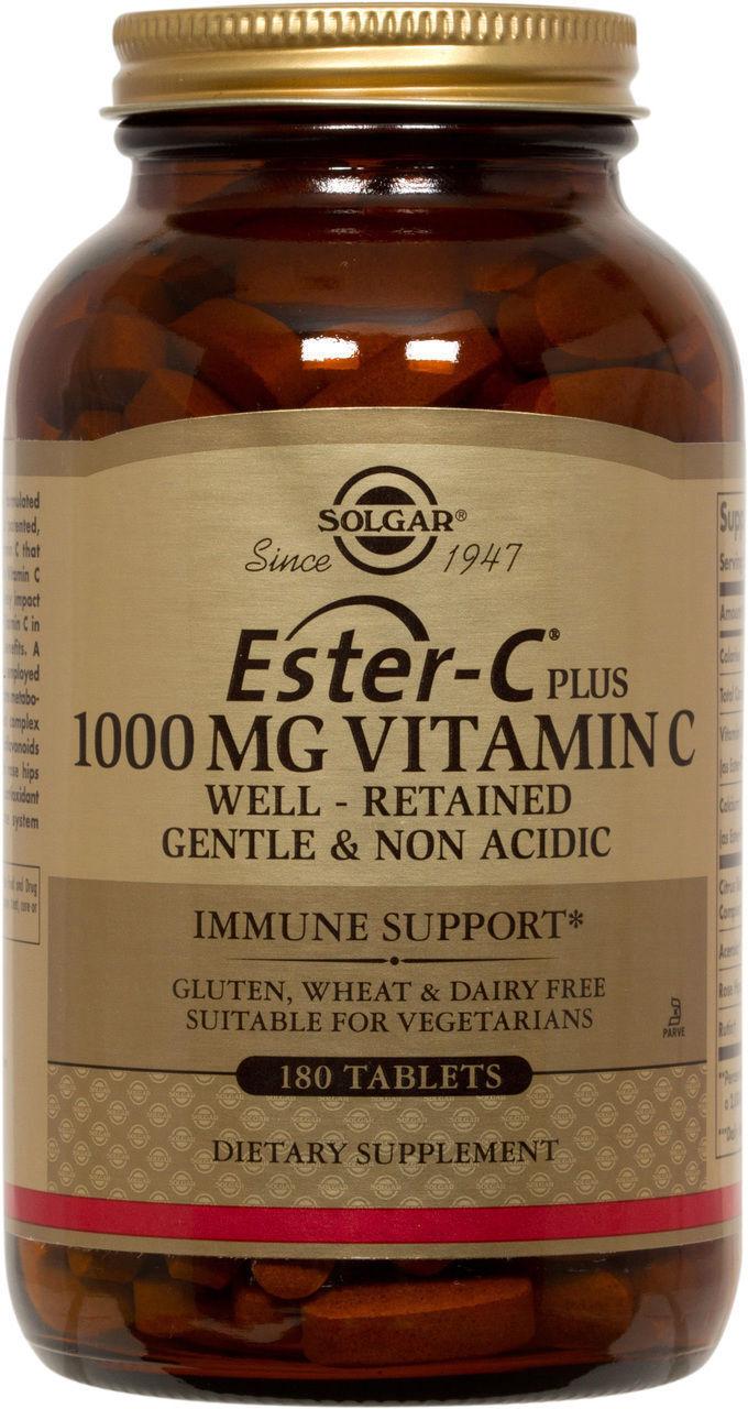 Solgar Ester-c Plus Vitamin C 1000 MG - 30 Tablets | eBay