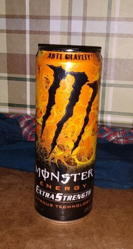 Monster Energy ANTI GRAVITY NITROUS Discontinued RARE! 1 Full, Sealed 12oz Can!