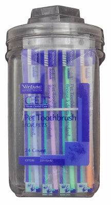 CET Pet Toothbrush Value Size Dispenser (24 count)