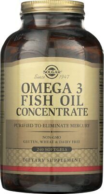 Solgar Omega-3 Fish Oil Concentrate 240 -