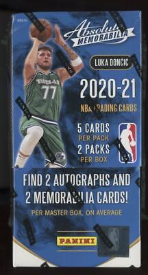 2020 Panini Absolute Memorabilia Basketball Factory Sealed Hobby Box