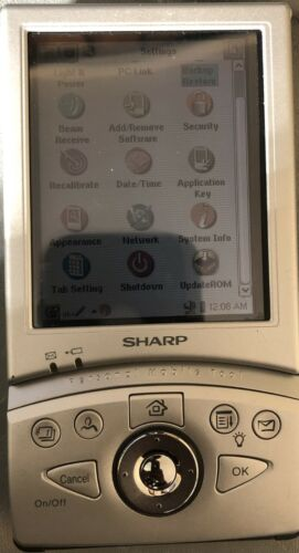 Sharp SL-5500 Personal Mobile Tool Excellent Condition Battery Included