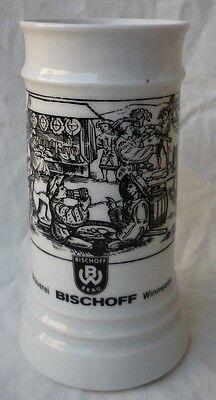 Brauerei Bierkrug der Bischoff Bräu Winnweiler - GK459-0619