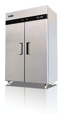 Migali C-2f Upright Stainless Two 2-door Freezer -top Mount-warranty