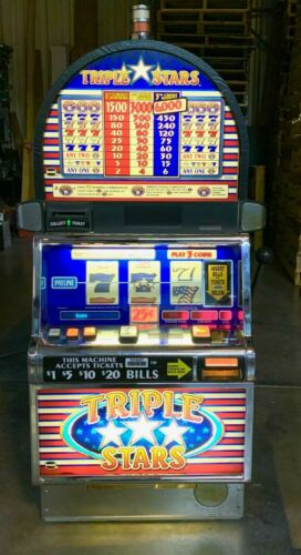 IGT Triple Stars Slot Machine For Sale
