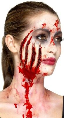 Halloween Claw Wound Bloody Zombie Special Effects Make Up Fancy Dress (Special Effects Make Up)