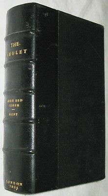 The Amulet: a Christian and Literary Remembrancer, Hunt, Leigh (1784-1859), Edit