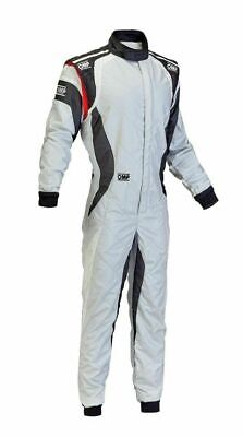 OMP Go Kart Race Suit CIK FIA Level 2 with free gift Gloves and (Kart Racing Suits)