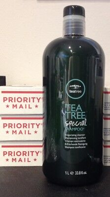 PAUL MITCHELL TEA TREE SPECIAL SHAMPOO 33.8 oz FREE PRIORITY MAIL SHIP