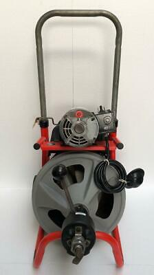 Ridgid Kollmann K-400 Drum Machine Drain Cleaning Machine 115v 1-12-4