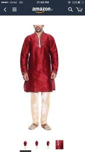 Indian Pakistani men's heritage traditional outfits kurtas koti
