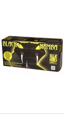 BLACK MAMBA XL NITRATE DISPOSAL GLOVES MECHANIC HD 6 MIL CHEMICAL RESISTANT
