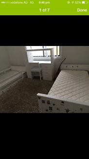 To fantastic beds+mattress!!And study desk Cabramatta West Fairfield Area Preview