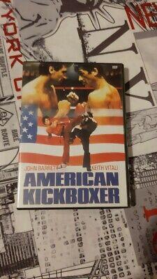 dvd film action AMERICAN KICKBOXER karaté combat rare VF