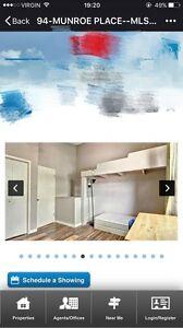 Closed to university of regina room for rent