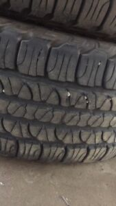 Goodyear Fortera tires