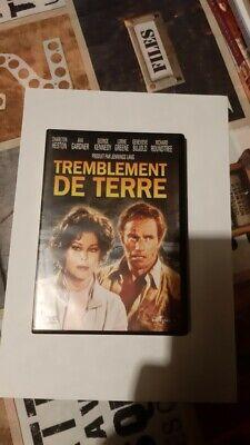 dvd film drame catastrophe TREMBLEMENT DE TERRE charlton heston a gardner rare
