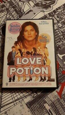 dvd film comédie romantique LOVE POTION sandra bullock   rare  NO PAY PAL