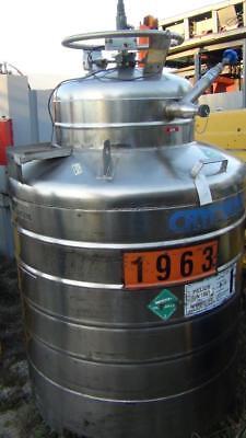 Cryofab CMSH-500 Liquid Helium Container - 500 Litre - Manufacture 1/92 XLNT !! - Helium Container