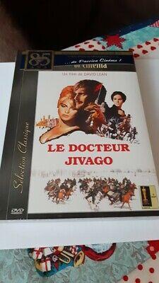 dvd film thriller LE DOCTEUR JIVAGO omar sharif neuf + bonus  rare