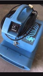 Floor / carpet blower dryer for hire