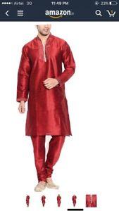 Indian pak men's boys outfits clearing sale kurta sherwani vest