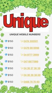 GOLD MOBILE NUMBERS- 8 New ! Sydney City Inner Sydney Preview