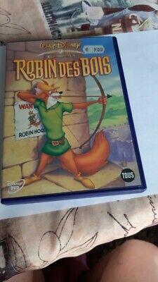 film dvd walt disney enfant dessin animé ROBIN DES BOIS robin hood  rare + bonus