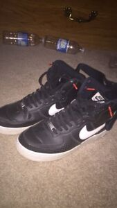 Air Force ones black and white $40